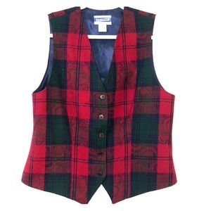 ♥️Vintage Pendleton 100% Wool Vest size 8 ♥️